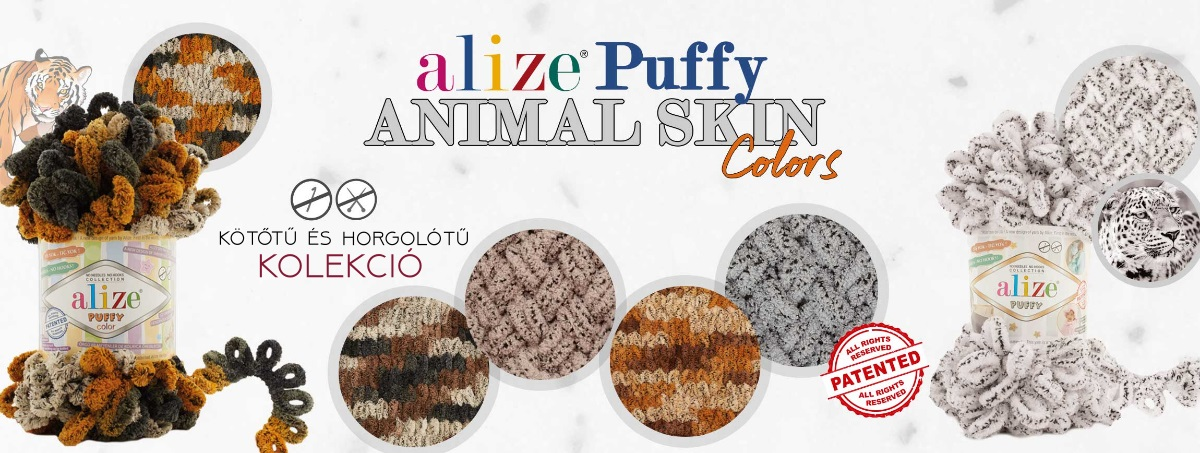 puffy color - animal skin colors - alomfonalak.hu