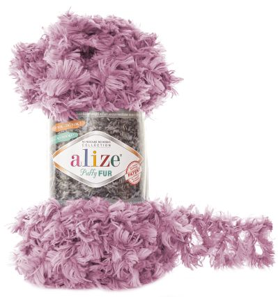 Puffy FUR 6103 - lila