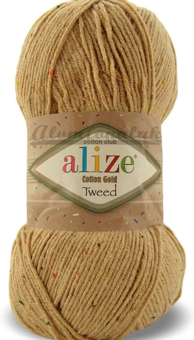 Cotton Gold Tweed 262