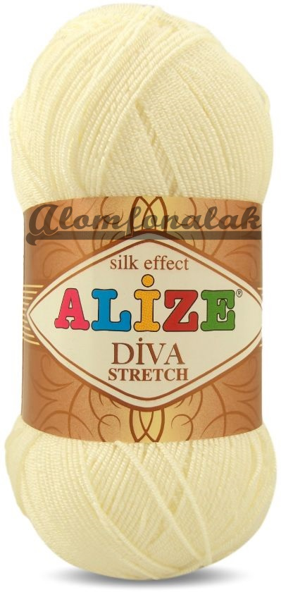 Diva Stretch 62 - vajszínü
