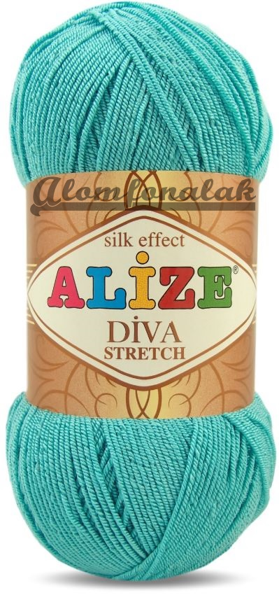 Diva Stretch 376 - türkiz
